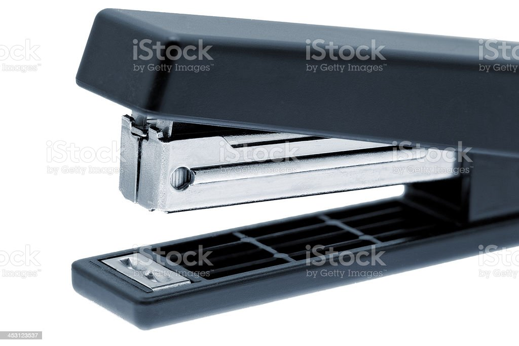 Stapler on white background .Isolated. royalty-free stock photo