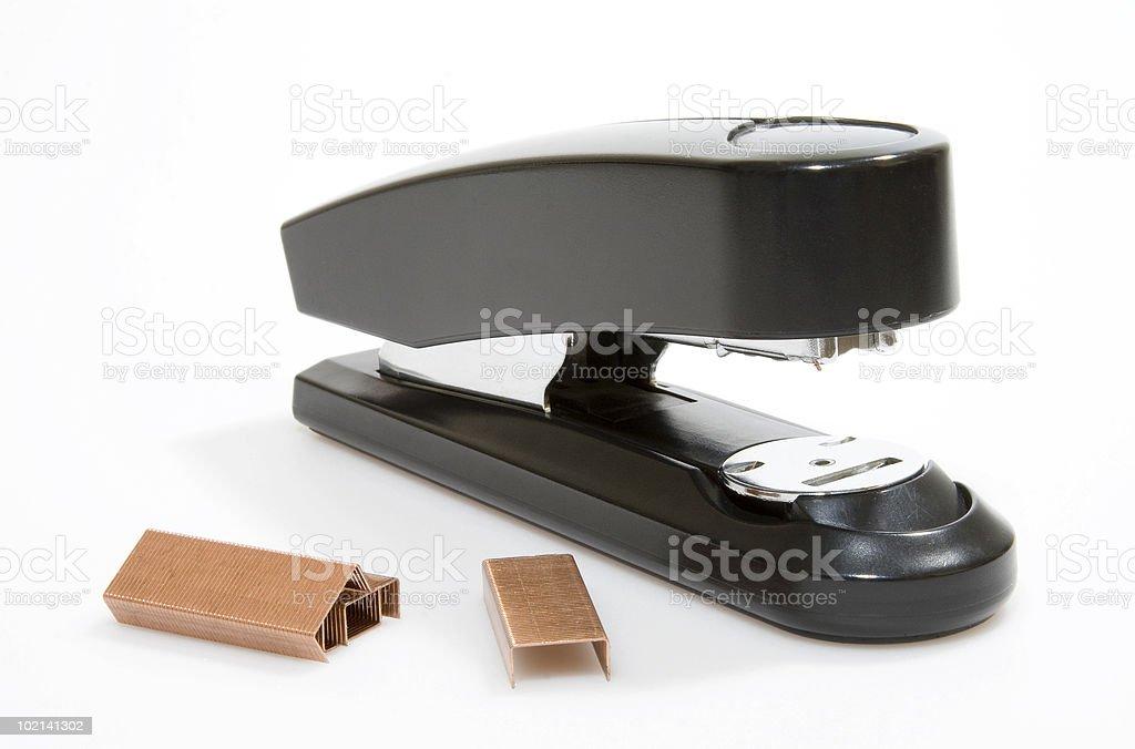 stapler stock photo