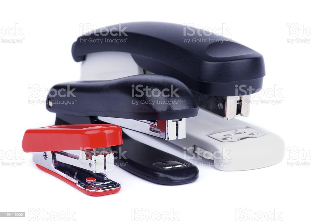 Staplers royalty-free stock photo