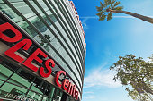 Staples Center arena in downtown Los Angeles