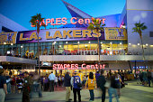 Staples Center in Downtown Los Angeles
