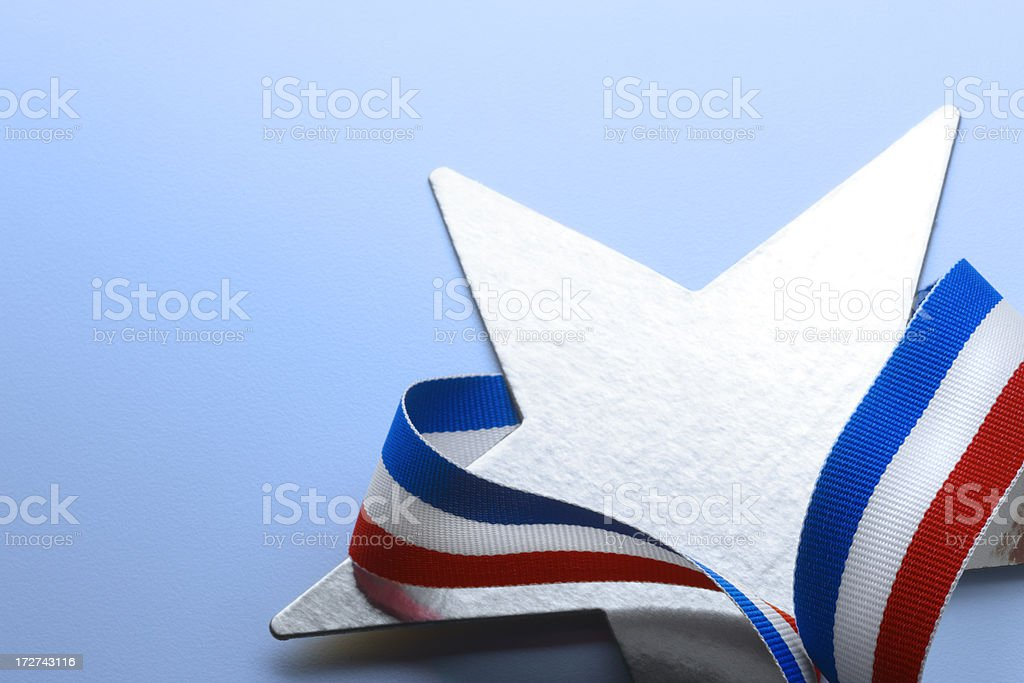Star and Stripes royalty-free stock photo