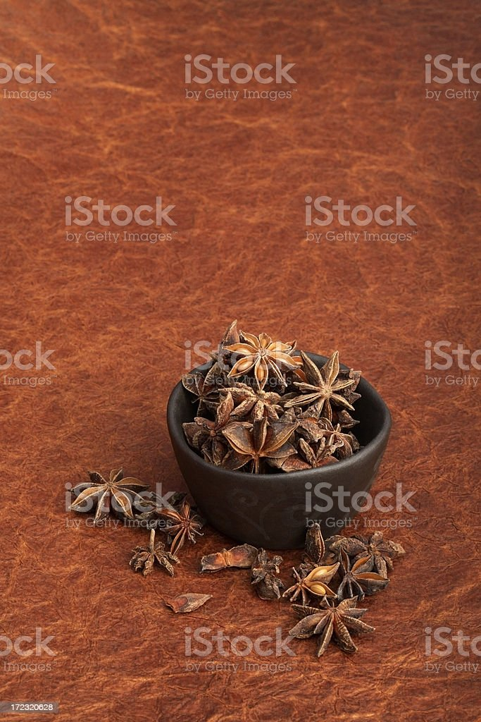 Star Anise. royalty-free stock photo