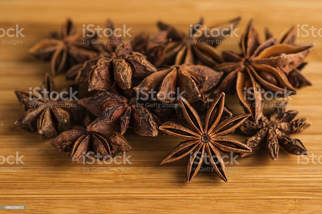 Star Anise - Stock Image stock photo
