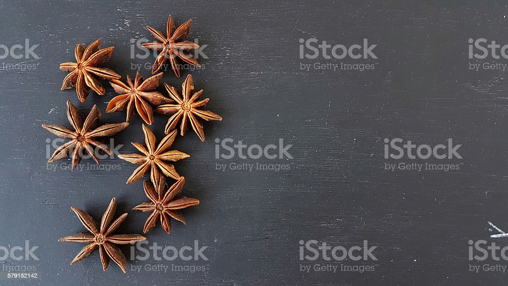 star aniseed stock photo
