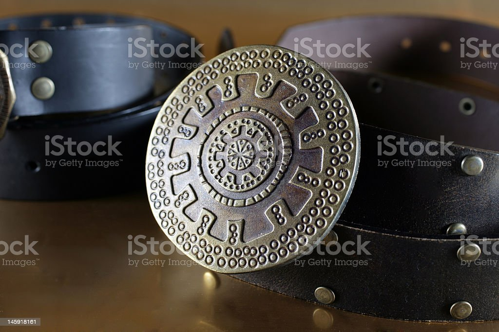 star belt stock photo