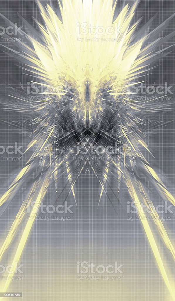 Star Burst 2 of 2 royalty-free stock photo