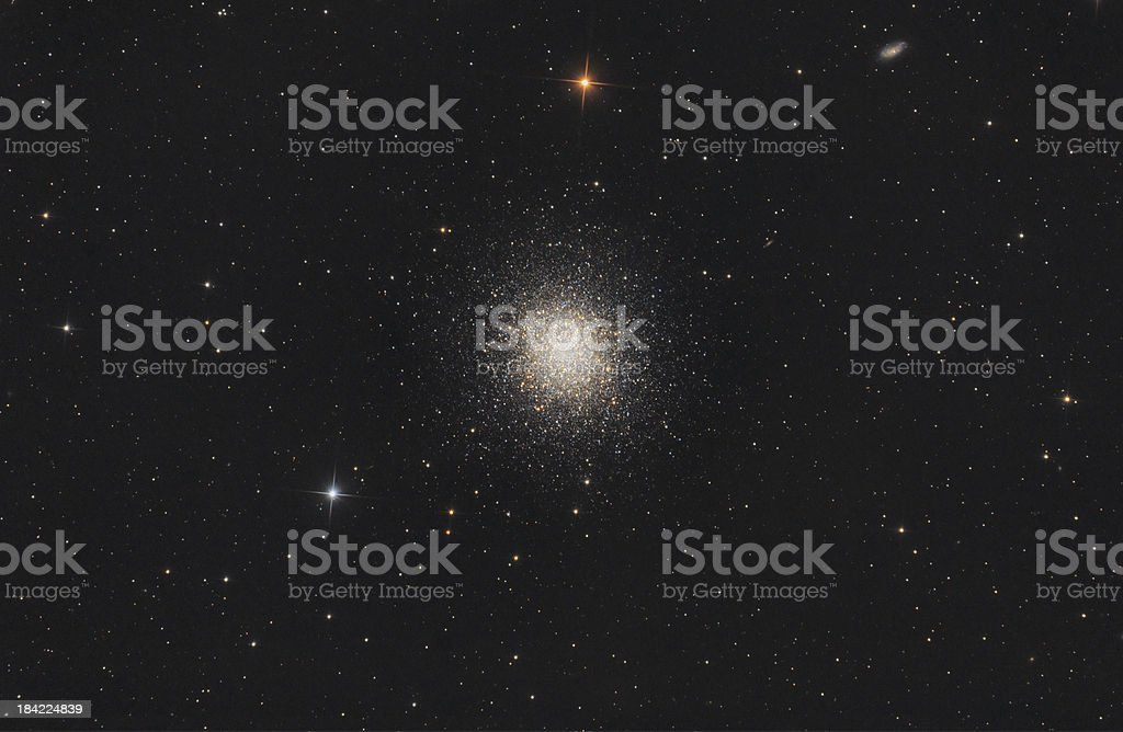 Star Cluster in Hercules Constellation stock photo