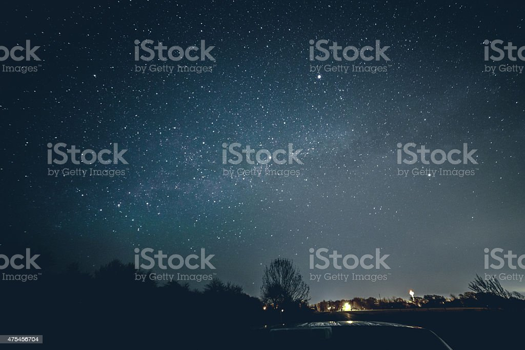 Star Cluster stock photo