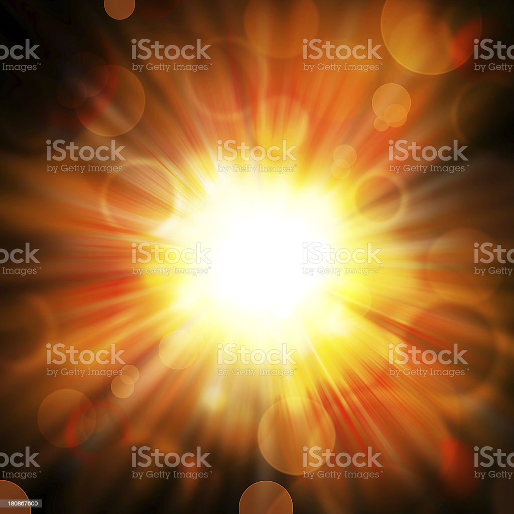 star explosion stock photo