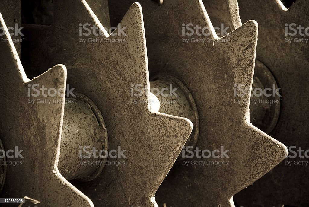 Star farm equipment royalty-free stock photo