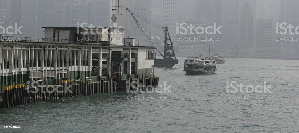Star Ferry   in Hong Kong royalty-free stock photo