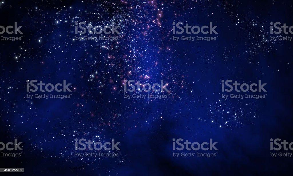 star field stock photo