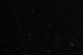 Star field shot with telescope