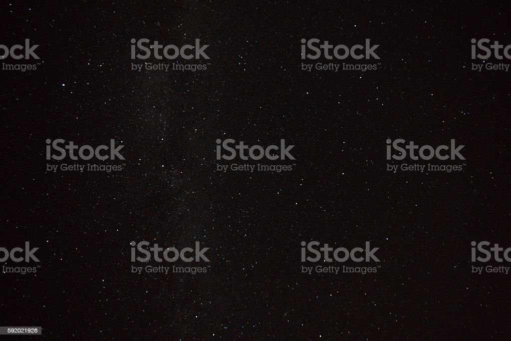 Star field texture stock photo