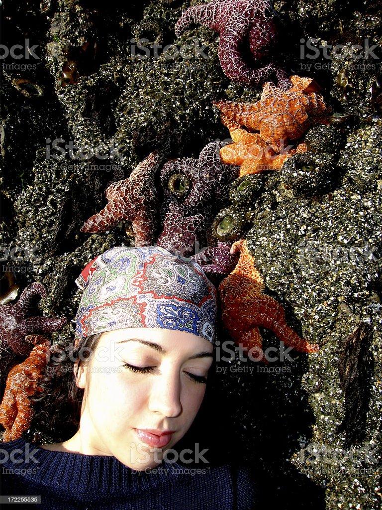 Star Fish Gypsy royalty-free stock photo