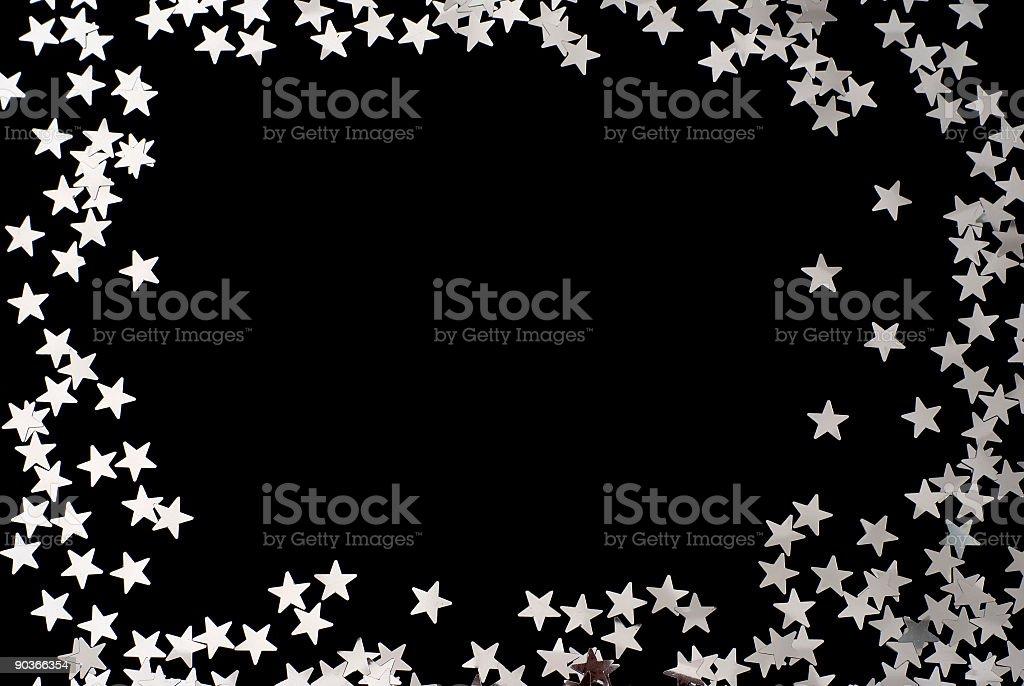 Star Frame royalty-free stock photo