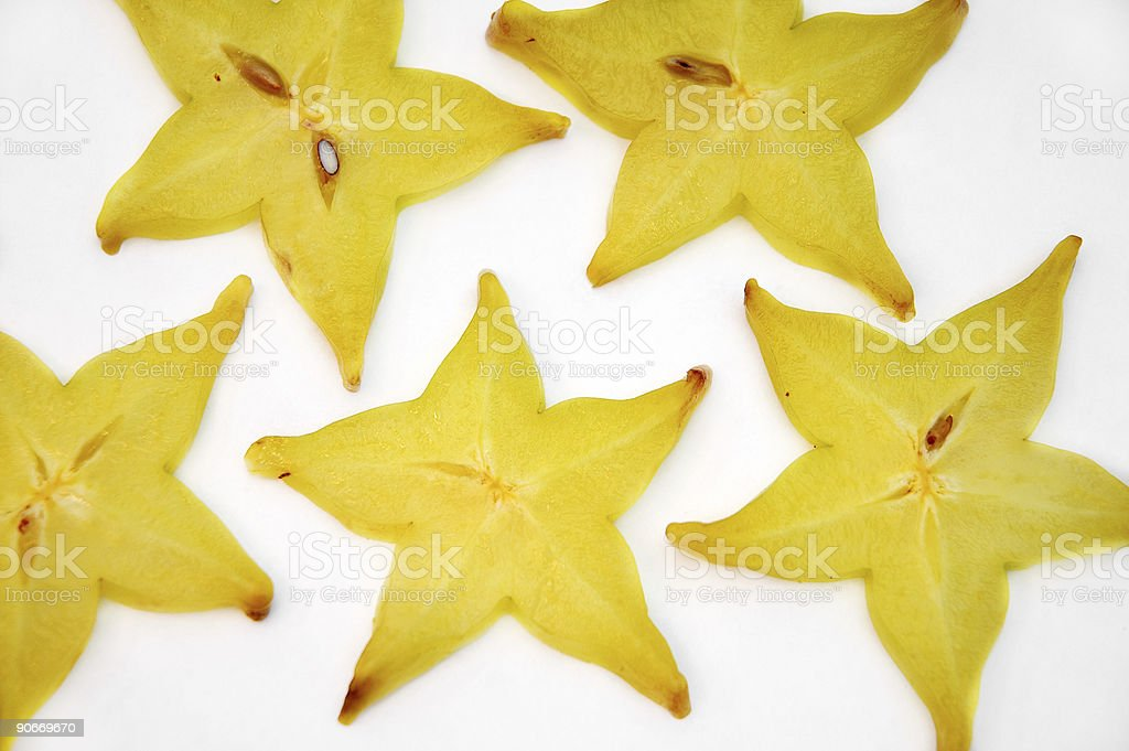 Star Fruit royalty-free stock photo