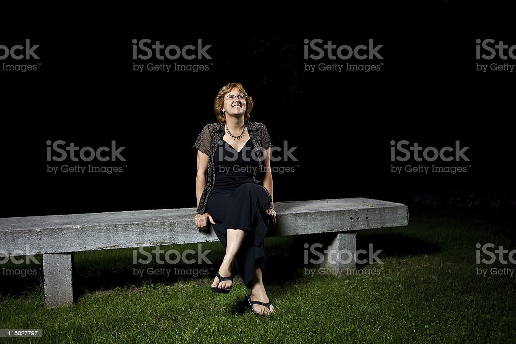 Star Gazing stock photo