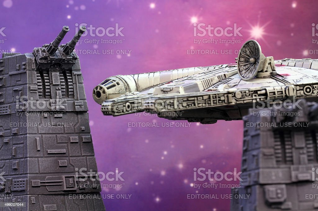 Star Landing stock photo