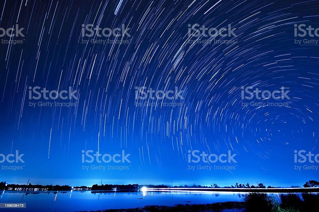 Star Motion stock photo