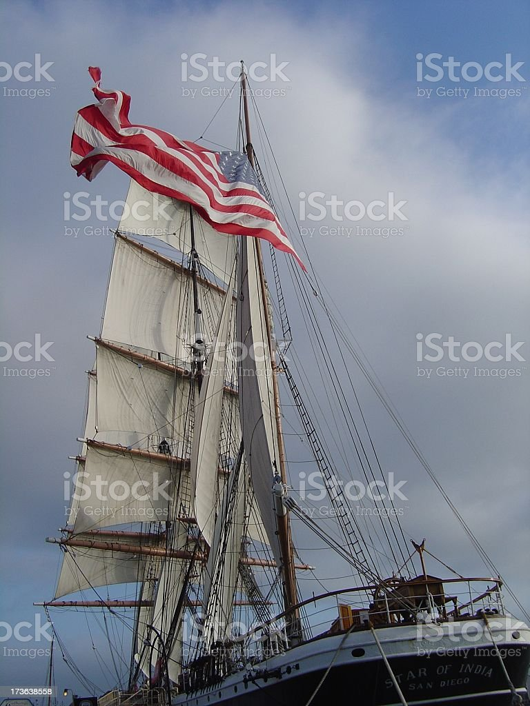 Star of India royalty-free stock photo