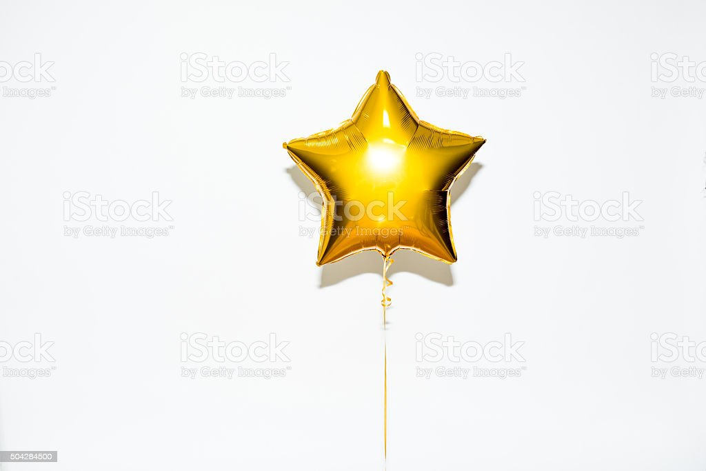 Star Shape Balloon stock photo
