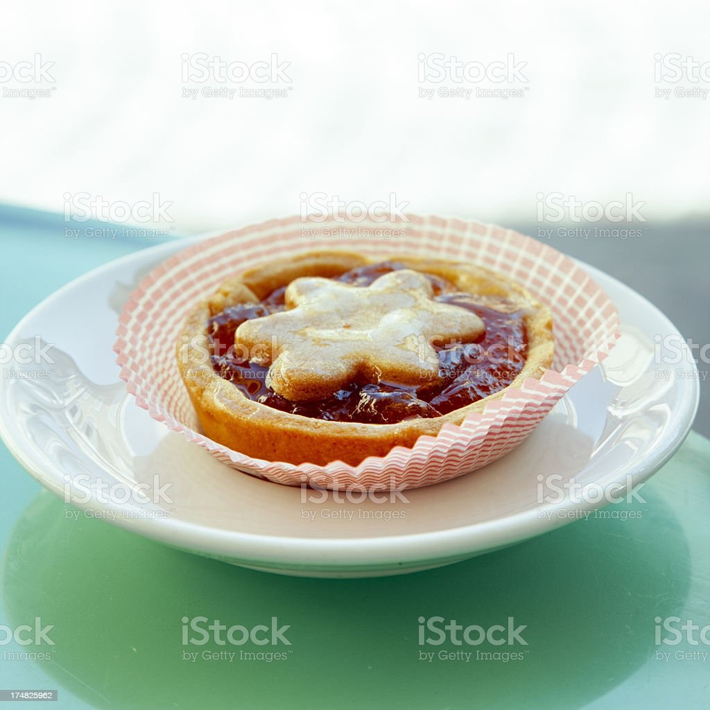 star shaped pastry royalty-free stock photo