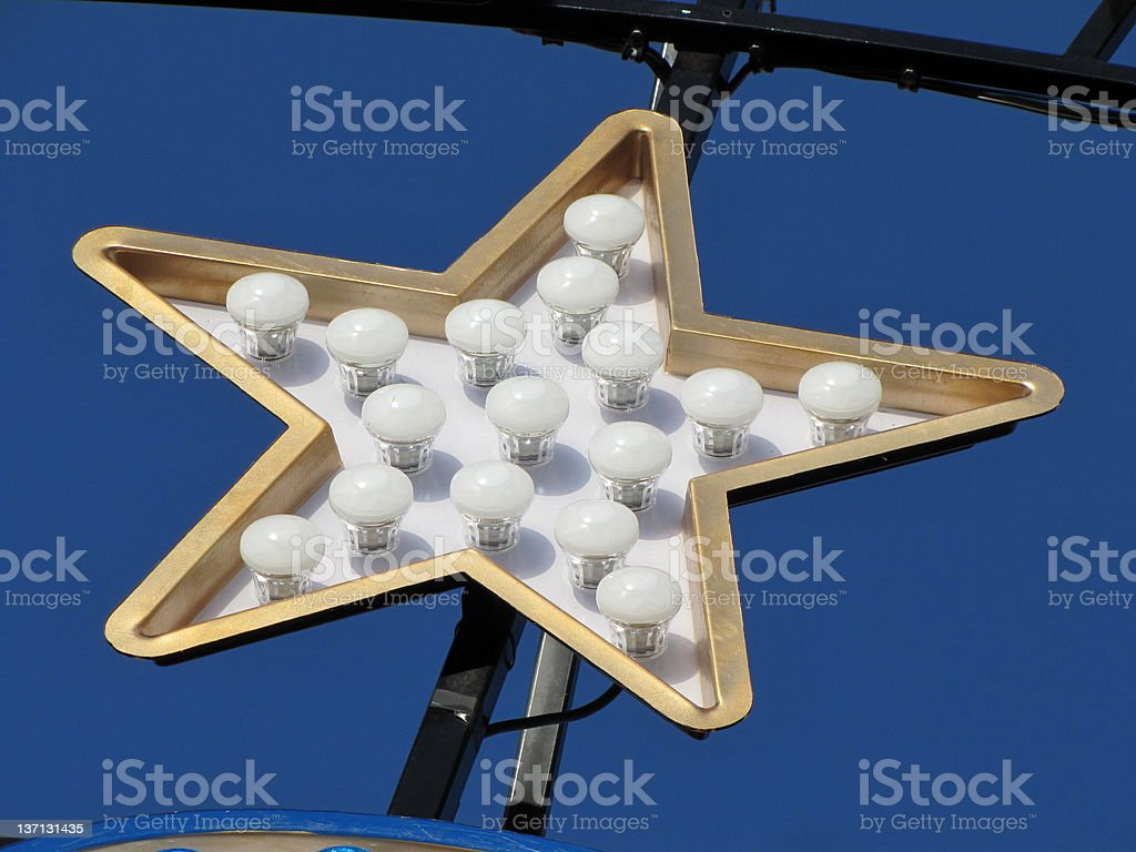 Star sign stock photo