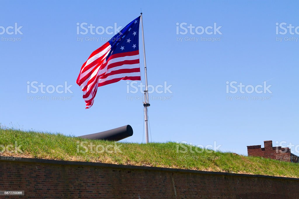 Star Spangled Banner stock photo