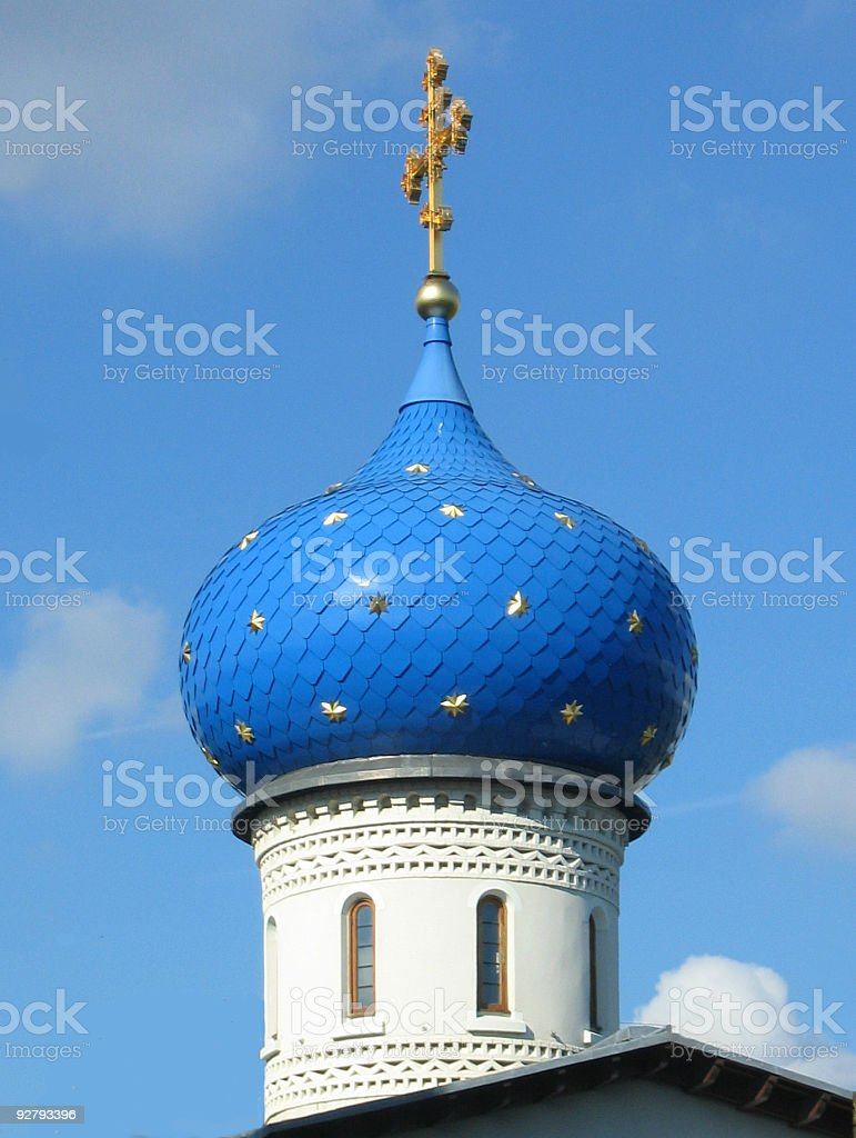 Star spangled dome stock photo