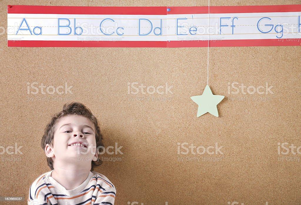 Star Student ABCs stock photo