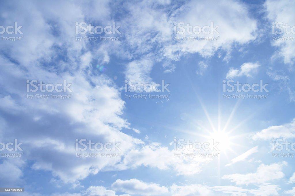 star sun stock photo
