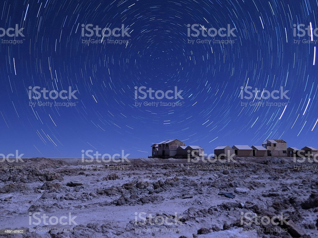 Star Trails in Blo?via stock photo