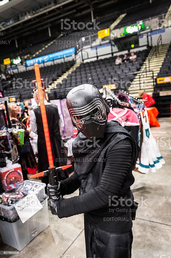 Star Wars cosplay stock photo
