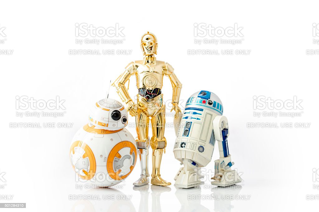 Star Wars Droids stock photo