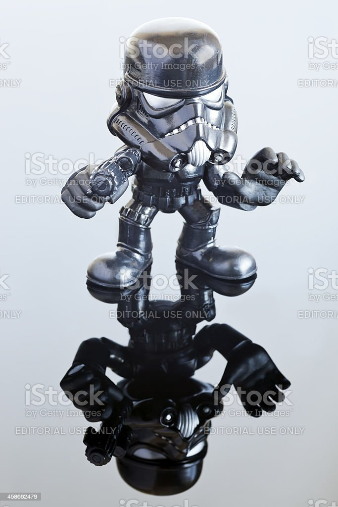 Star Wars Shadow Trooper Figure royalty-free stock photo