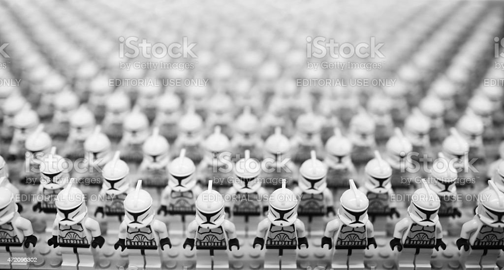 star wars troopers stock photo