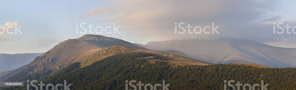 Stara planina mountain royalty-free stock photo