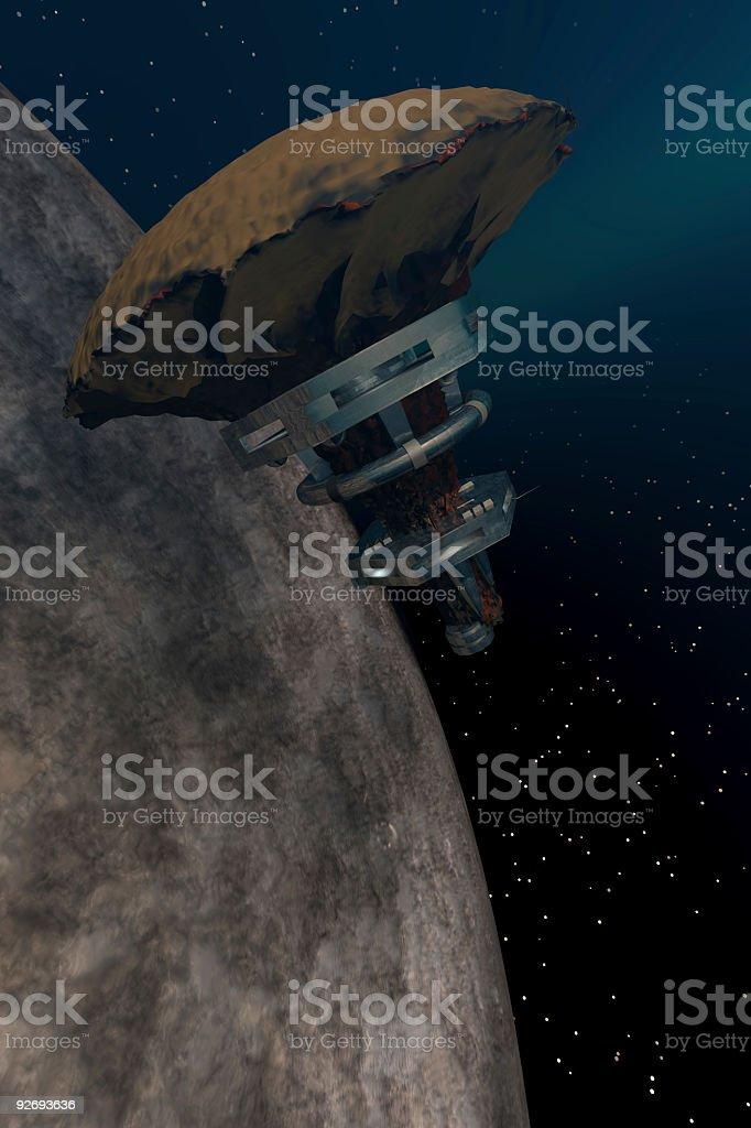 StarBase 1 royalty-free stock photo