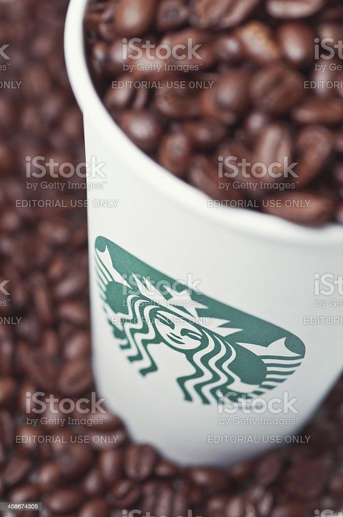 Starbucks Coffee Cup stock photo