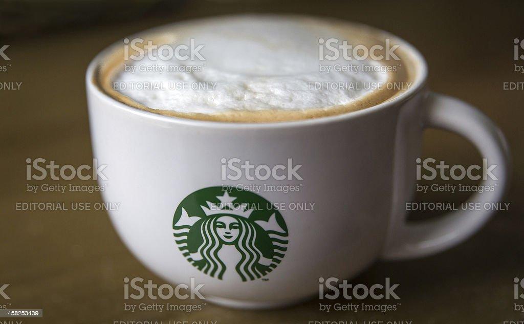 Starbucks Coffee Mug stock photo