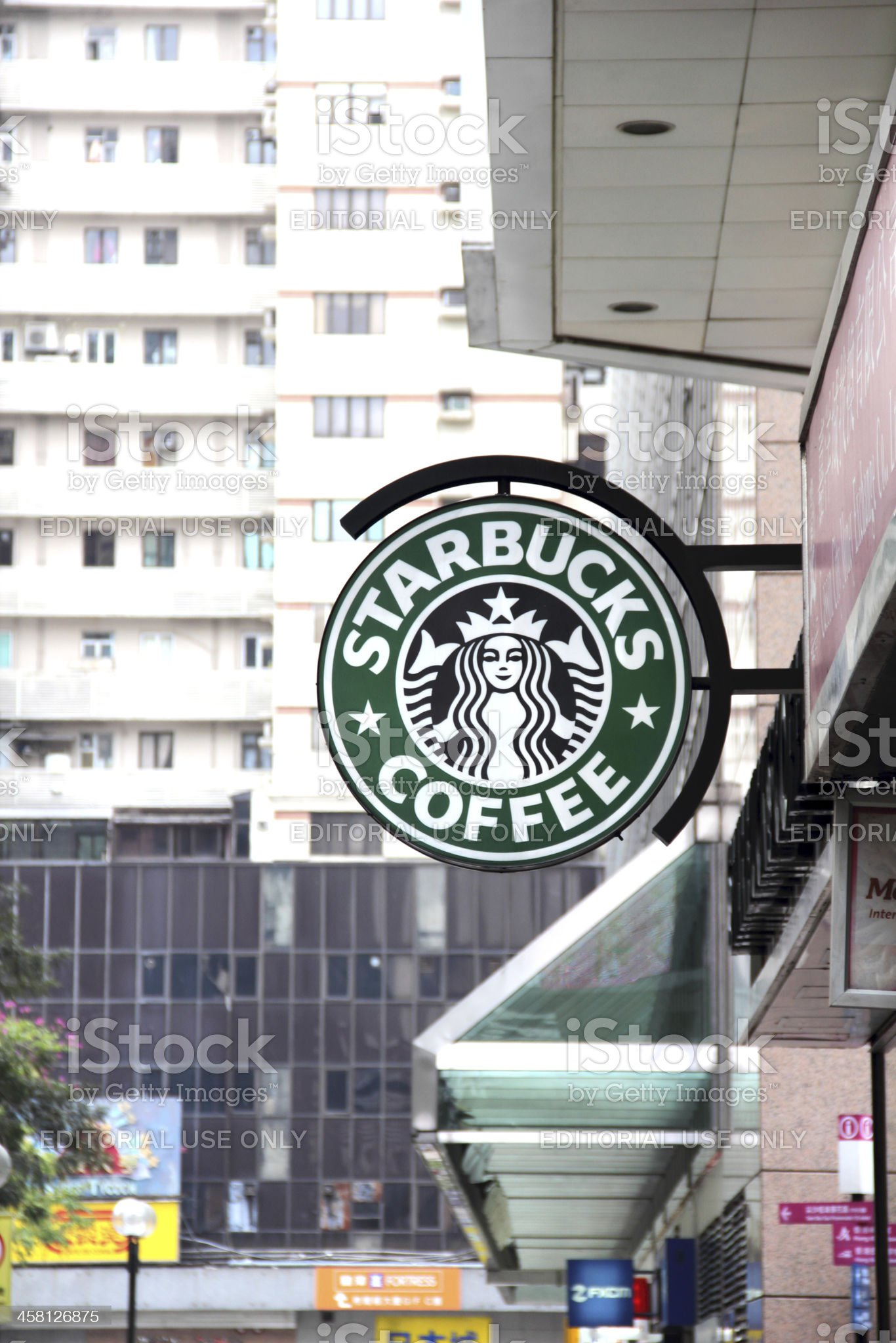 Starbucks Coffee royalty-free stock photo