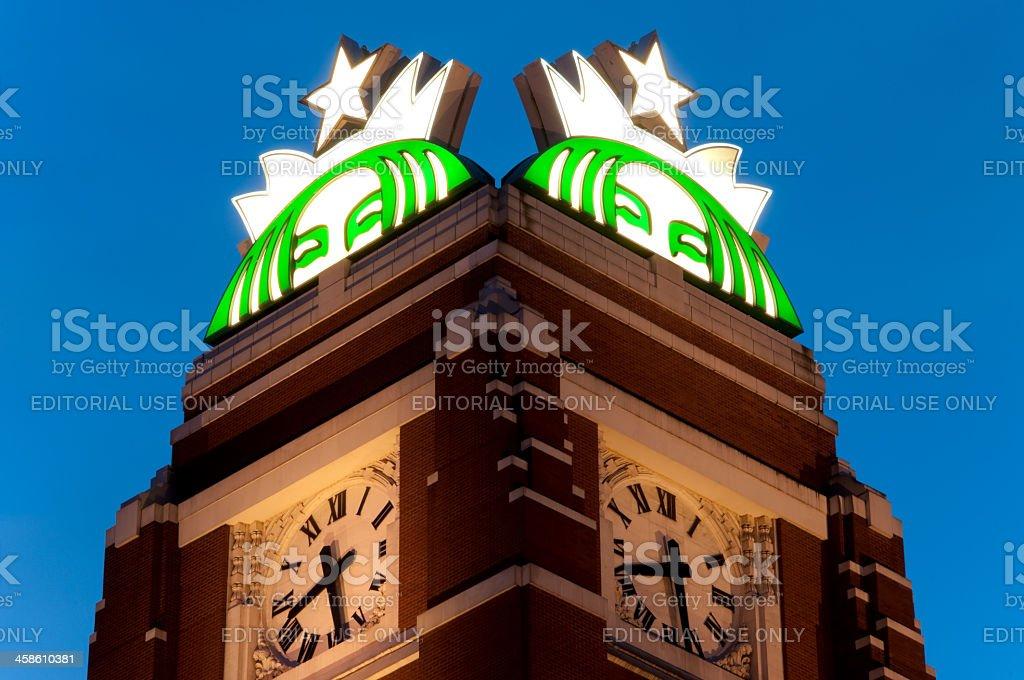 Starbucks Corporate Building royalty-free stock photo