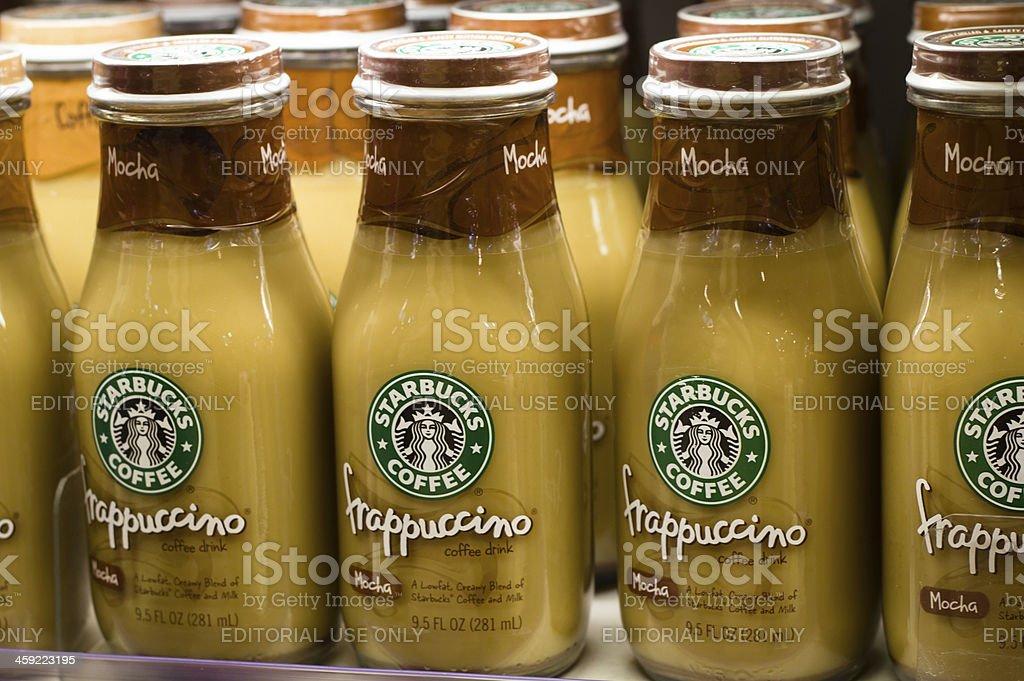 starbucks frappuccino coffee stock photo