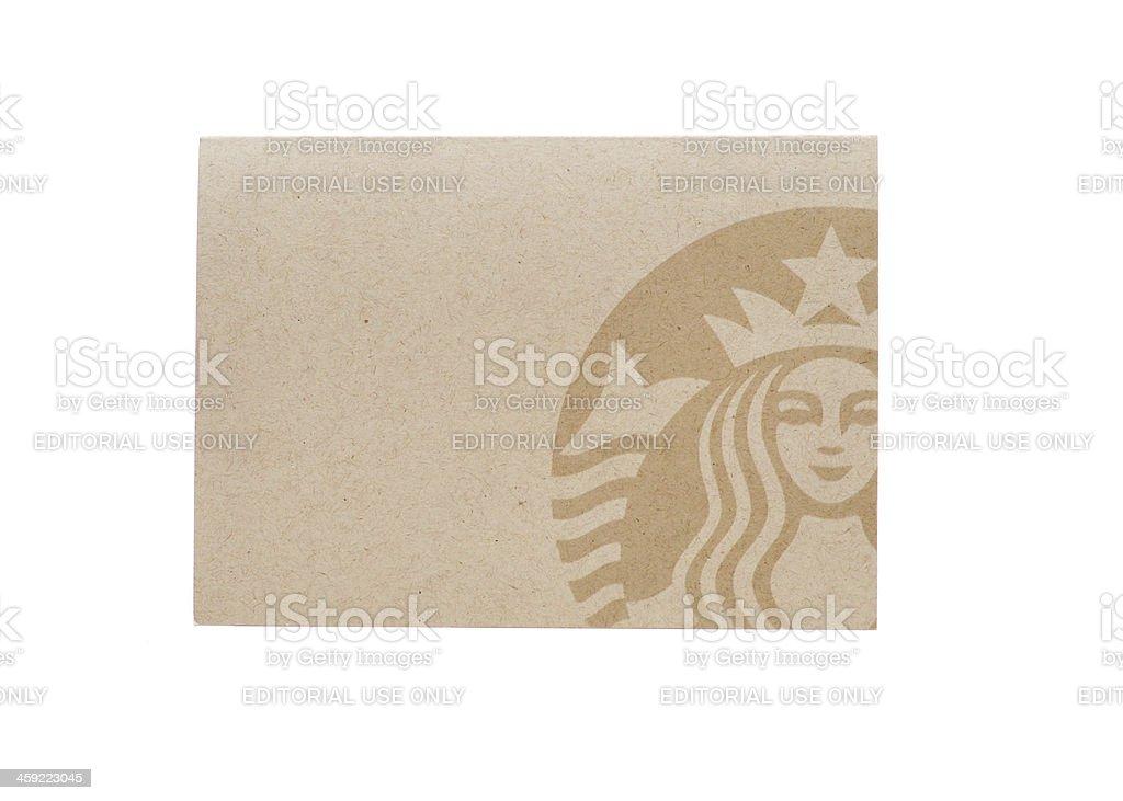 Starbucks Logo stock photo
