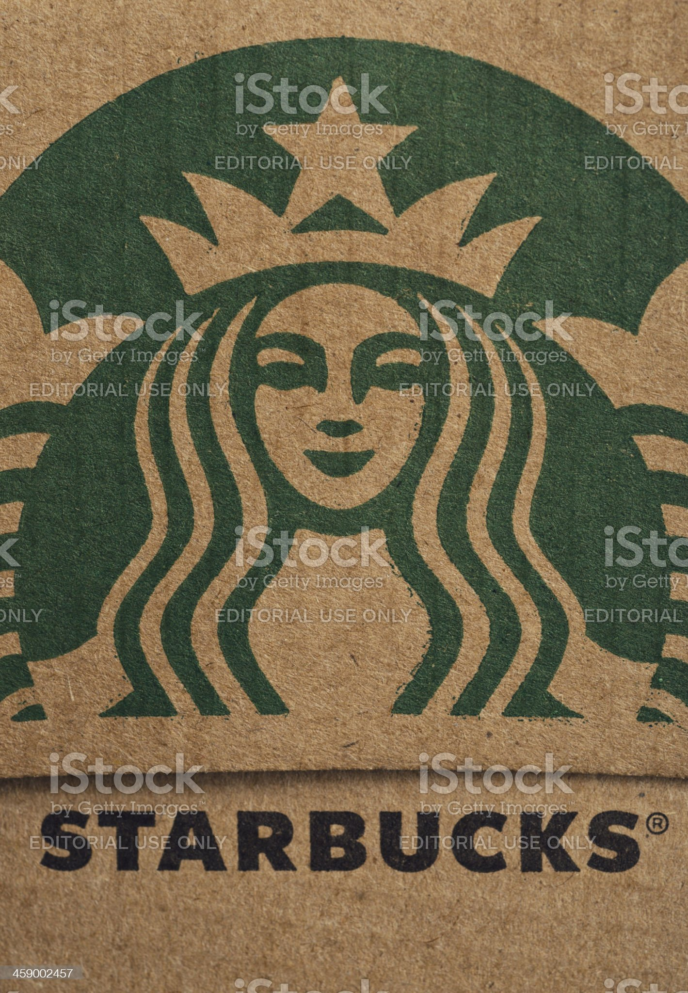 Starbucks royalty-free stock photo