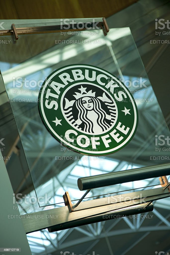 Starbucks Sign royalty-free stock photo
