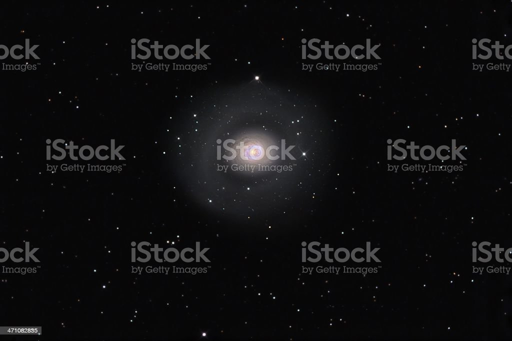 Starburst Galaxy stock photo