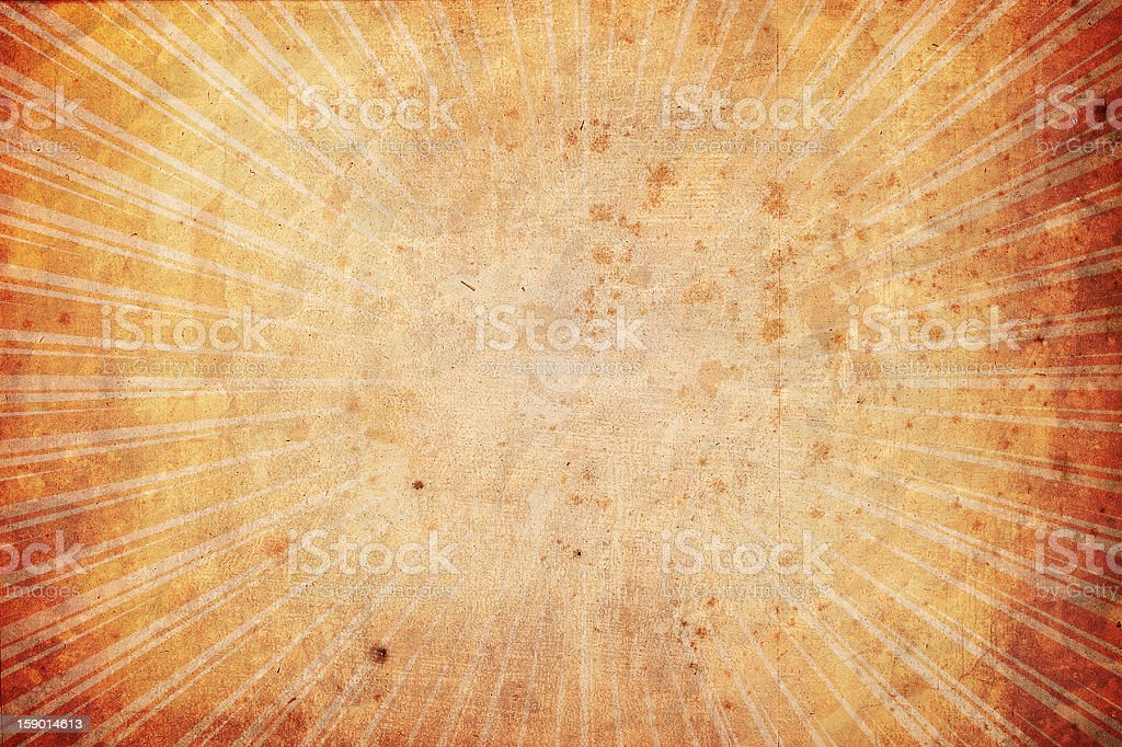 Starburst textured background royalty-free stock photo